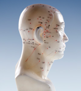 acupuncture pressure points on head