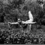 Dr. Cai's martial arts pose (1978)
