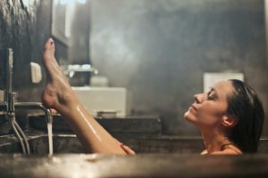 hot bath hives