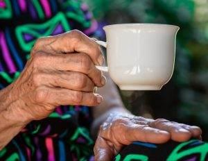 Parkinson's disease, hand tremor